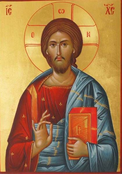 "30 Day Orthodox Challenge Day 04- Your favorite Jesus icon My favorite icon of the Lord Jesus Christ is Christ Pantocrator (from the Greek Παντοκράτωρ). Translating from the Greek, Pantocrator can mean ""Almighty"" or ""all-powerful."" According to..."
