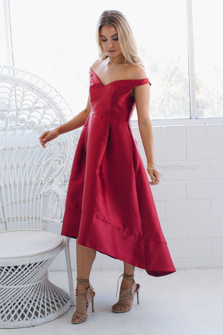 Babette Dress in Red