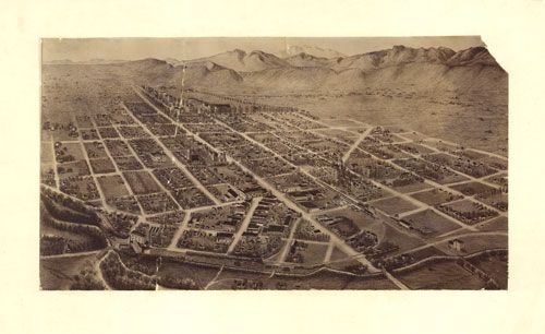 Historic Map – Fort Collins, CO - 1899