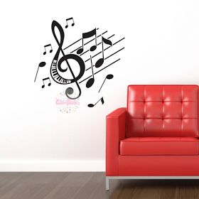 Las 25 mejores ideas sobre pared musical en pinterest for Vinilo decorativo musical pared