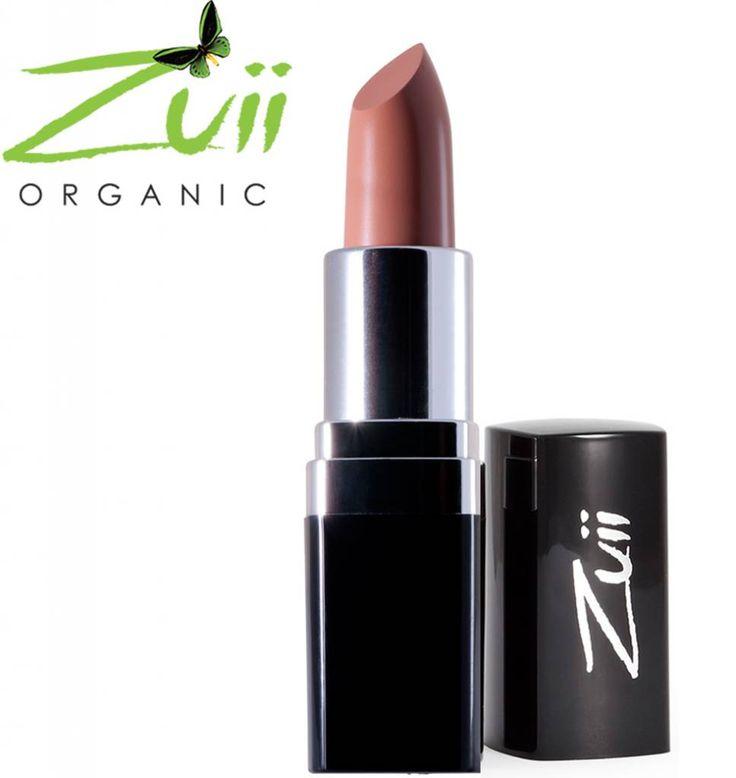 Zuii Organic Natuurlijke lippenstift Brown Sugar - The Green Beauty Shop
