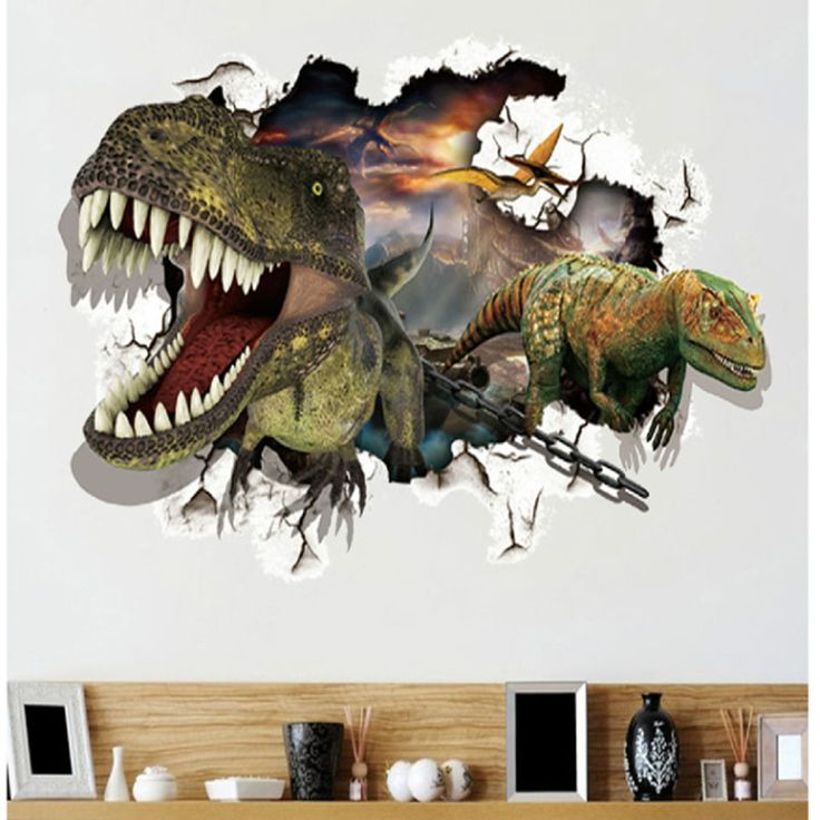 Best Images About Cake Molding On Pinterest D Wall - 3d dinosaur wall decals