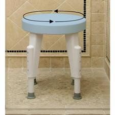 special offers shower stool rotating round shower stool in stock u0026 free shipping