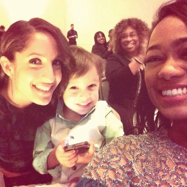 Christel Khalil And Tatyana Ali At The NAACP Image Awards