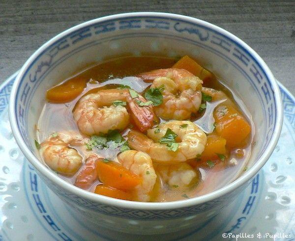 Soupe de crevettes thaï