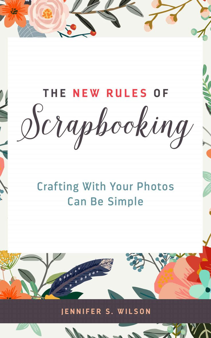 Scrapbook ideas without photos - New Blog Post The New Rules Of Scrapbooking Free For Kindle Limited