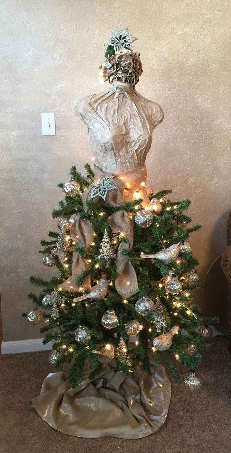 Best images about maniquin christmas trees on pinterest