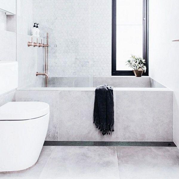 Cool Concrete - The Coolest Bathrooms On Insta - Photos