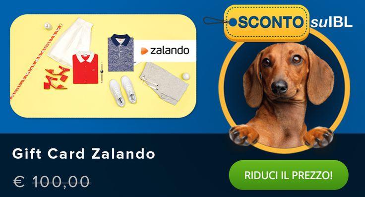 Il prezzo? Lo scegli tu! #giftcard #zalando #madai #shoppingonline