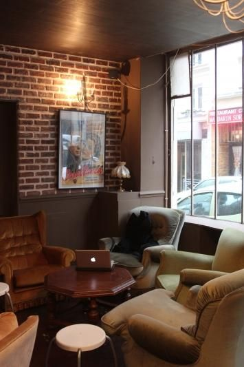 Café Garden Perk : 21 rue Cujas. Ouvert du lundi au samedi de 9h à 19h30.