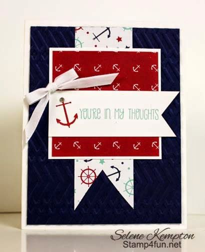 Stampin Up! Sea Street Stamping Class