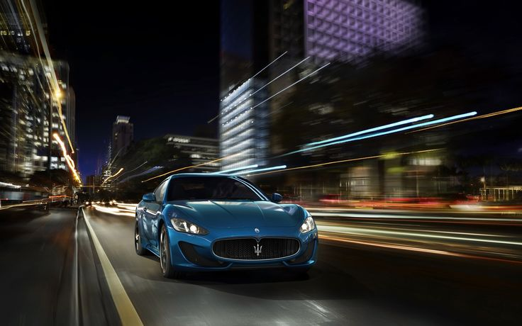 2014 Maserati GranTurismo Sport Blue Motion