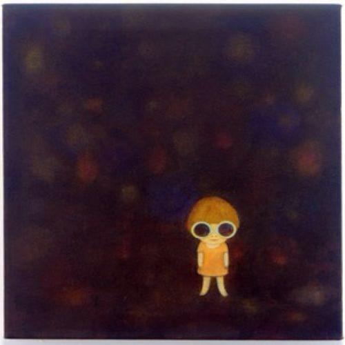 Yoshitomo Nara 2014 eCsound (aka Eric Costa) - Signal: Exo Mental Confusion Rework (digital) [https://soundcloud.com/ecsoundmusic/signal-exo-mental-confusion] #albumcover #奈良美智
