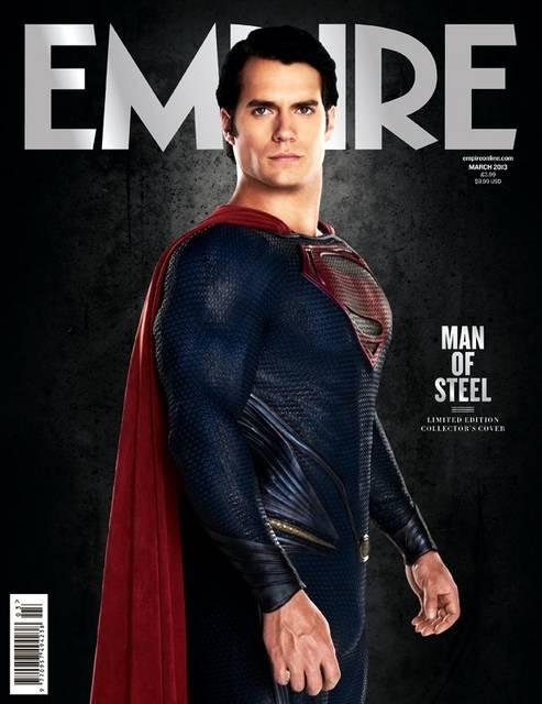 L'Uomo d'Acciaio - Henry Cavill sulla cover Empire  #ManOfSteel