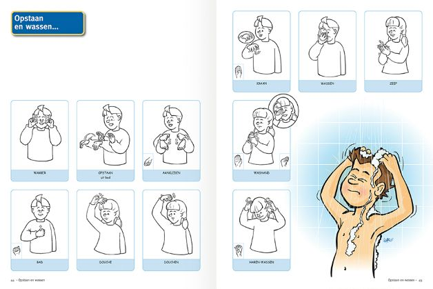gebaren badkamer