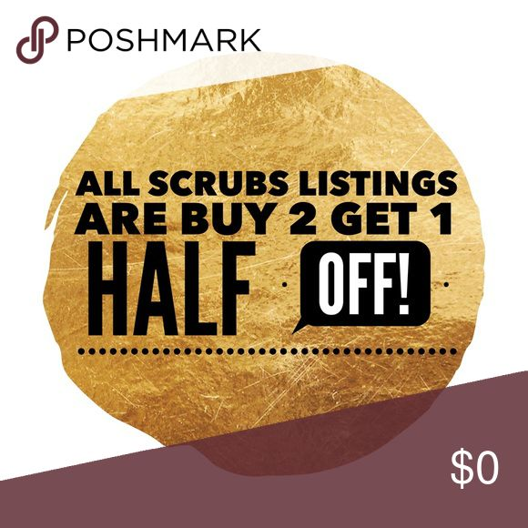 Scrub sale! Scrub sale! Let me know which 3 listings you want & I'll make a custom listing for you with the discount! *discount will be given on least expensive listing. Limited time only! Pants