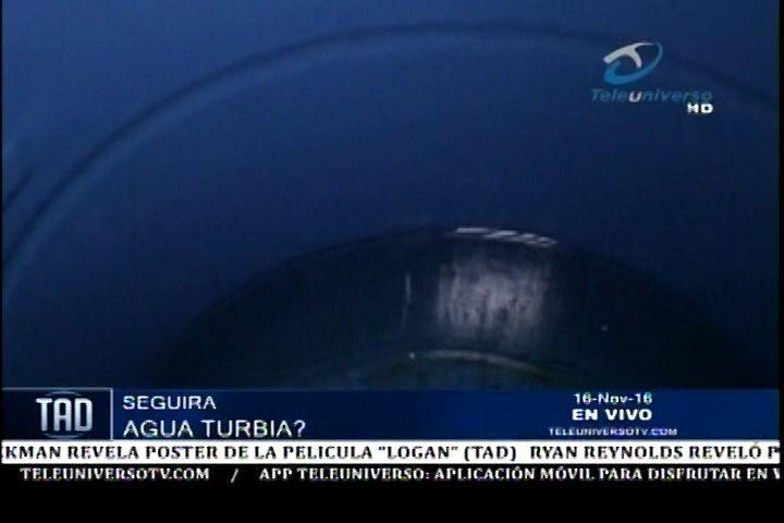 Santiago: Comunidades Están Recibiendo Aguas Turbias y Mal Olientes