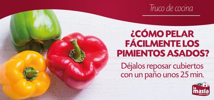 Un sencillo truco para disfrutar de un buen aliño de #pimientos #asados
