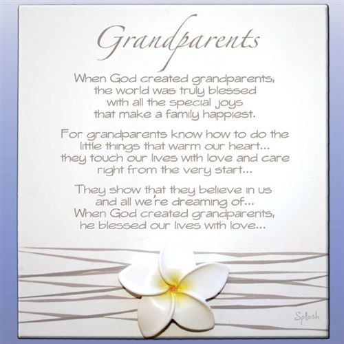 Grandparents Day Quotes Poems