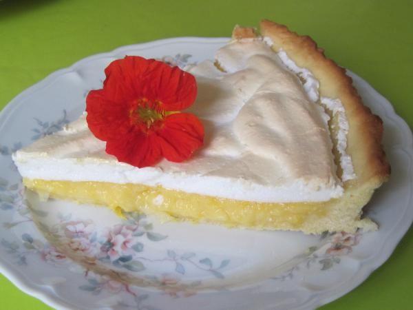 Французский цитрусовый пирог - Tarte au citron - Город.томск.ру