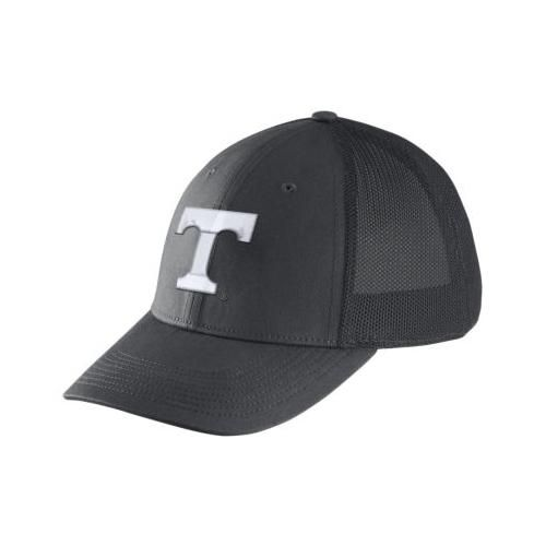Tennessee Nike Dri-FIT Mesh Back Flex Fit Hat ANTHRACITE