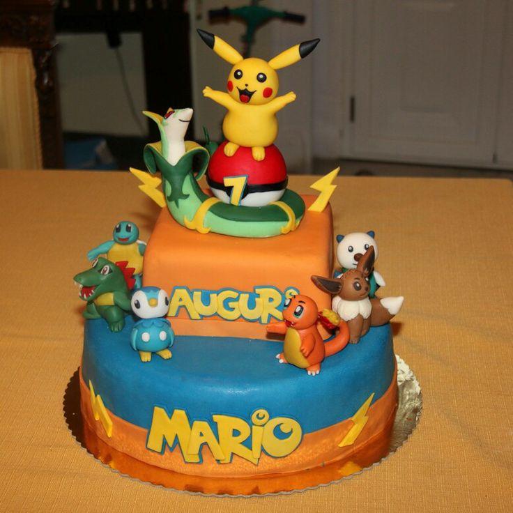 Torta Pokemon by Myele