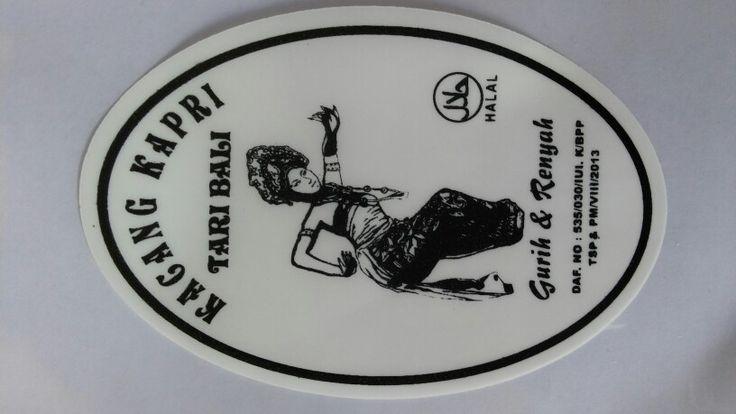 Original Logo of Kacang  Tari Bali, enak &  gurih