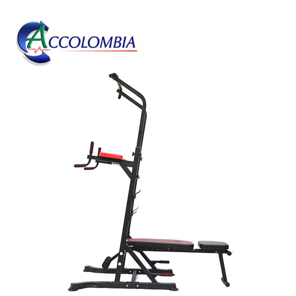 PULL UP Family Soporte Dominadas Y Fondos Con Banco Ajustable