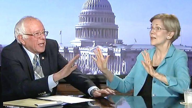 "Bernie Sanders And Elizabeth Warren DESTROY ""Cowardly"" Republican Health Care Bill - YouTube"