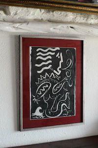 """Sirenes"" Nikos Zappas / Acrylic on Paper 40x50cm ®"