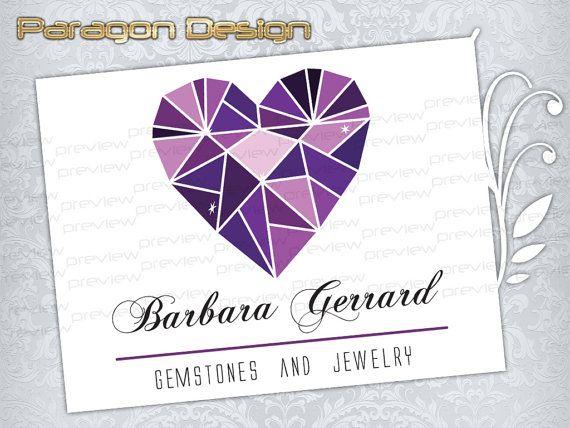 Logo premade et filigrane - personnalisés pour bijoux Business - création de Logo vectoriel (012)