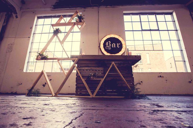 Bar ideas for Chocolate Factory weddings