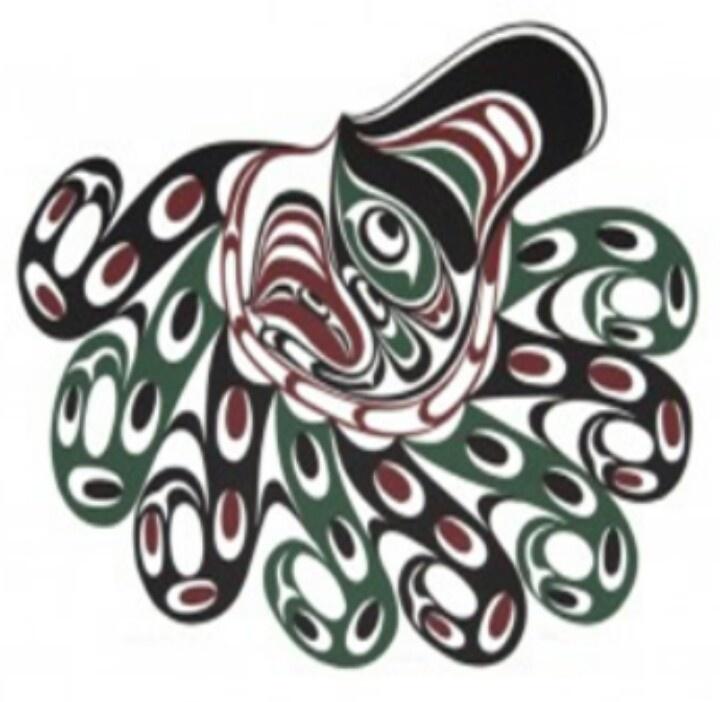 first nations octopus tattoo ideas octopus pinterest. Black Bedroom Furniture Sets. Home Design Ideas