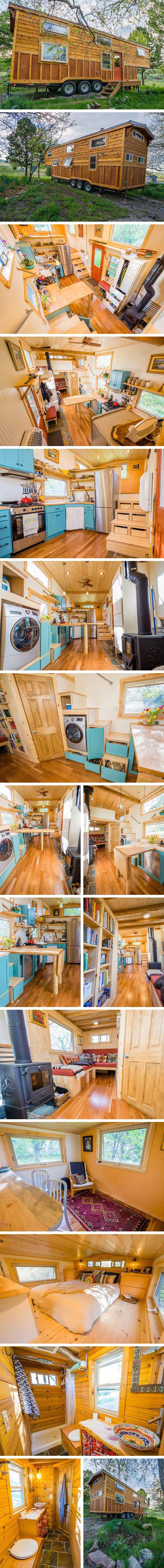 Дом на колесах Eric & Oliver от MitchCraft Tiny Homes #tinyhomesdigest #tinyhouse #houseonwheels #camper