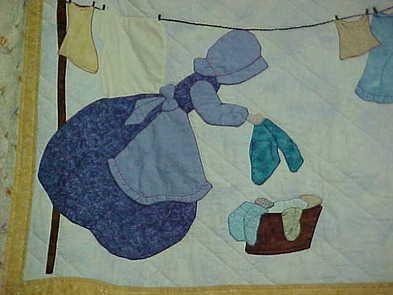 Bonnet Girls Quilt Blocks   Sun Bonnet Sue Bonnet Girl Quilt, Quilts For Sale, Custom Quilts,