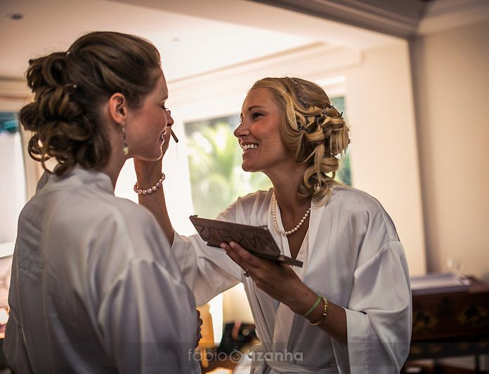 Casa dos Penedos Wedding preparations