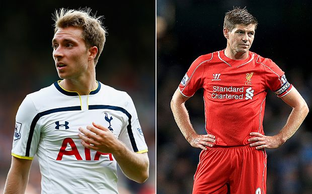 Today, Christian Ericksen and Steven Gerrard will have important roles to play. Who do you think will shine the most? Who will be the best player for today. Let's find out later when the game begin! #PremierLeagueLive #TottenhamVSLiverpool