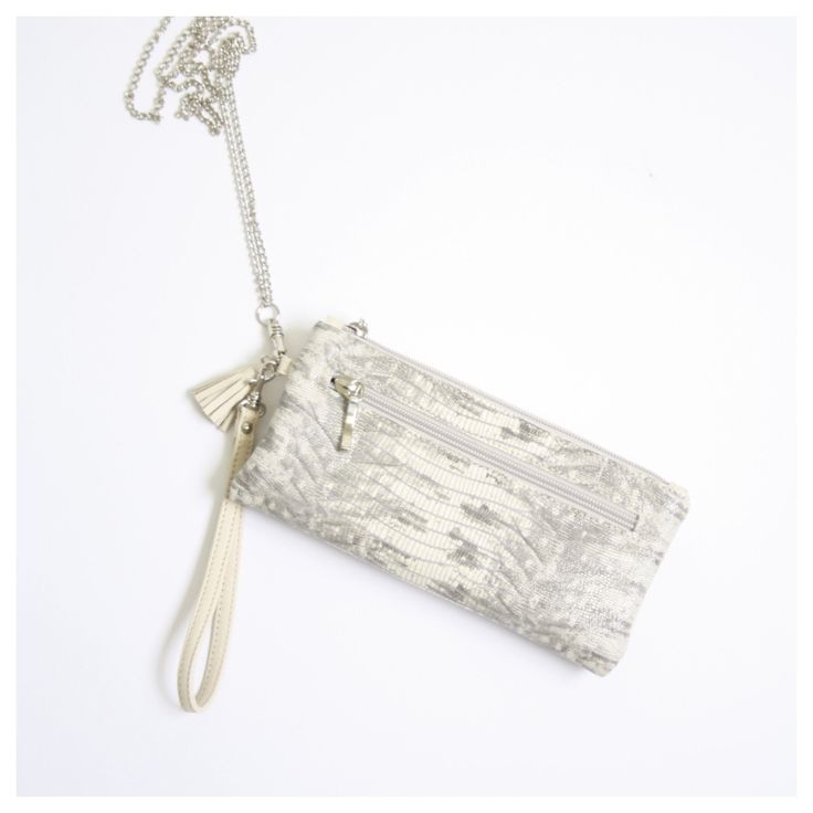 Clutch/crossbody/shoulderbag made of lizardprint leather, 100% made in the Netherlands, one off, exclusive, www.bruijs.com