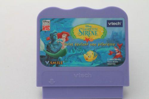 VTech VSmile Game La Petite Sirene Ariel Devient Une Princesse FREE SHIP CAN/USA #Gifts