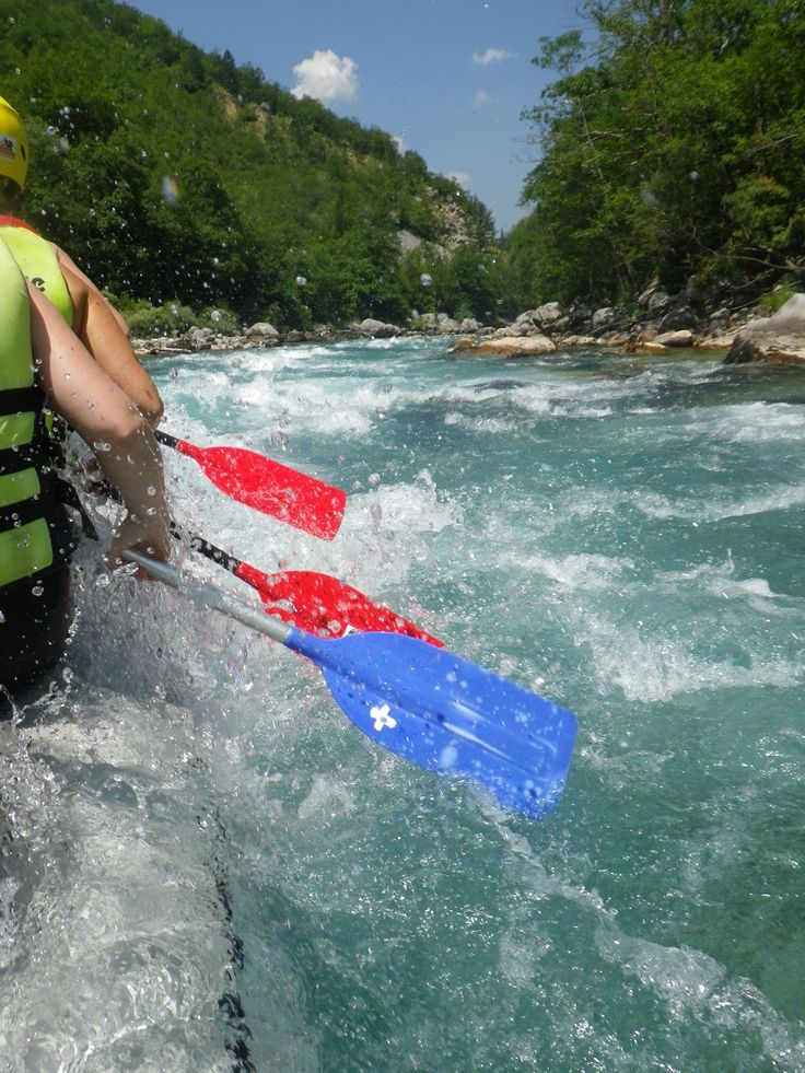 A fun rafting excursion is part of all of our multi-activity packages.