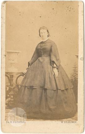portret kobiety 1870-1889