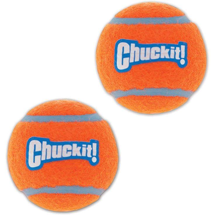 Chuckit 07101 2 Chuckit! Mini Tennis Balls Assorted