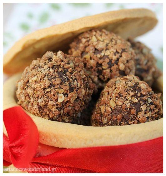 Τρουφάκια με μπισκότο | Sweet Box