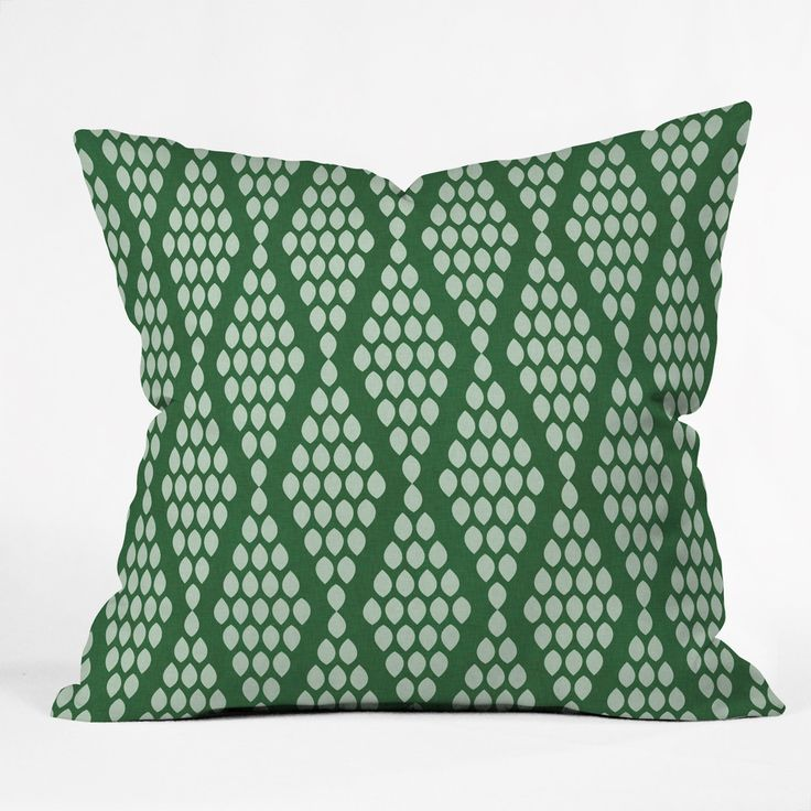 Holli Zollinger Beaded Triangle Throw Pillow | DENY Designs Home Accessories