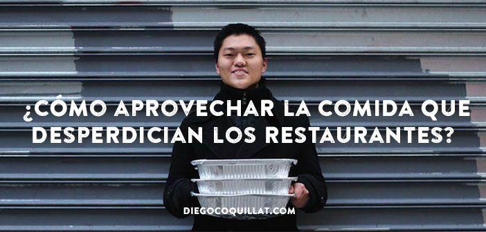 Descubre la maravillosa historia de Robert Lee, un joven estudiante de Estados Unidos que ha sido capaz de crear una organización que aprovecha las sobras de comida de los restaurantes de Nueva York para dársela a personas sin recursos #Desperdicios #NuevaYork #Restaurantes #Solidaridad