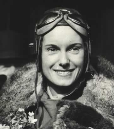 Jean Batten, New Zealand pilot established several individual flight distance records in the 1930s