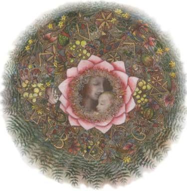 Sacral Mandala for Fertility