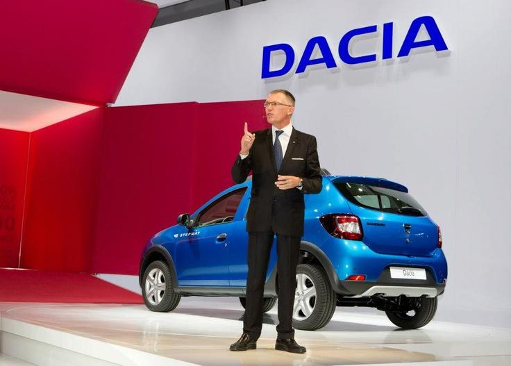 Lansarea noilor modele Dacia la Paris