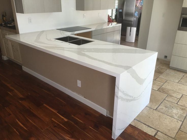 Beautiful Kitchen Done With Brittanica Cambria Quartz