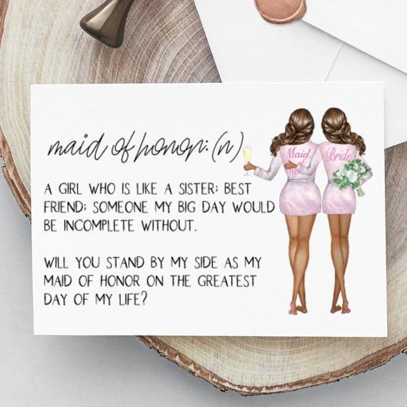 Will You Be My Bridesmaid Card Funny Wedding Day Card Funny Bridesmaid Proposal Card Instant Download Bridesmaid Asking Cards